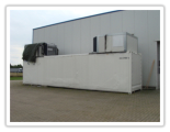 Used 40 foot refrigerated container